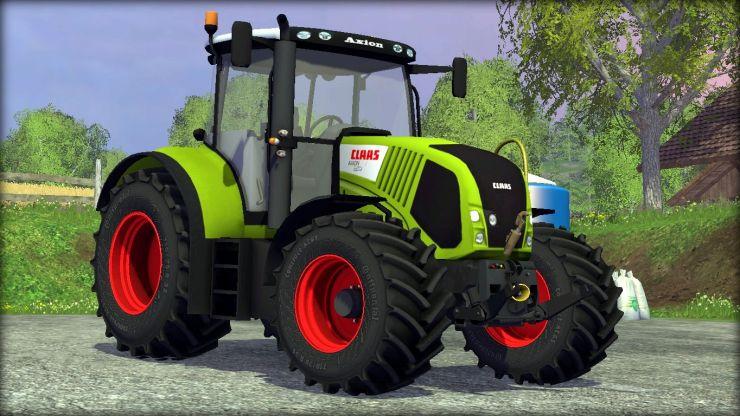 AXION 850 Original - Farming Simulator 2015 mods / LS FS 2015 mods