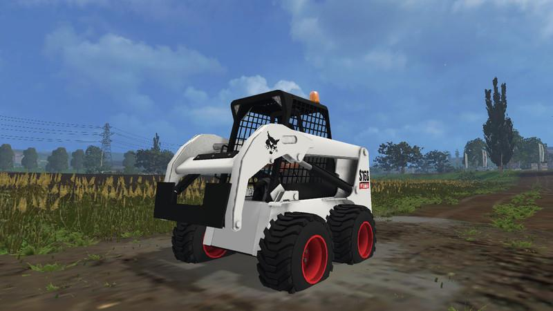 BOBCAT S160 V1.0 - Farming simulator 2015 mods