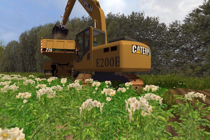 cat e200b 1 0 5 Cat E200B Excavator v 1.0
