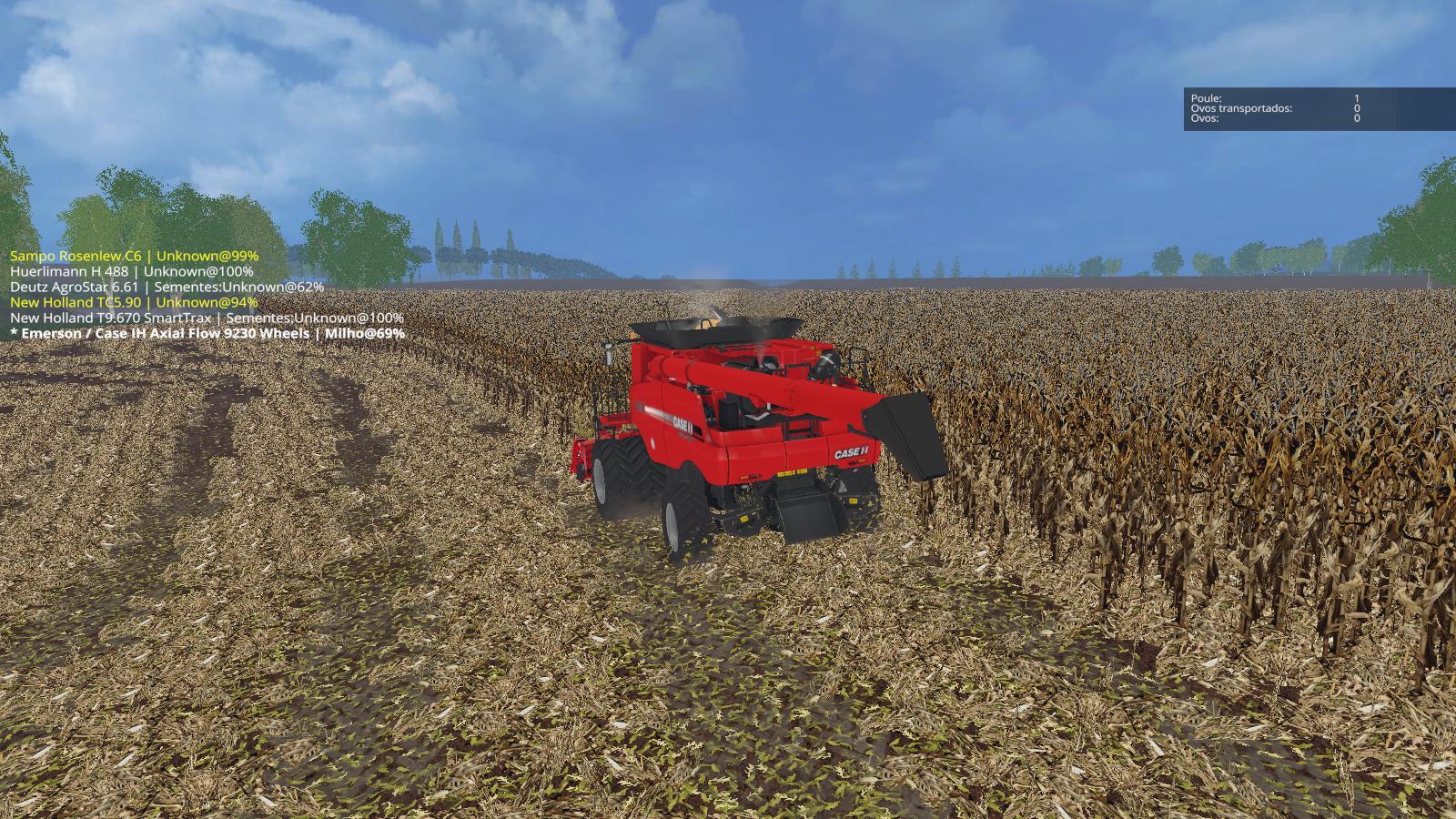 Farming Lady: John Deere 8430 mod for Farming Simulator 2015 / 15 FS
