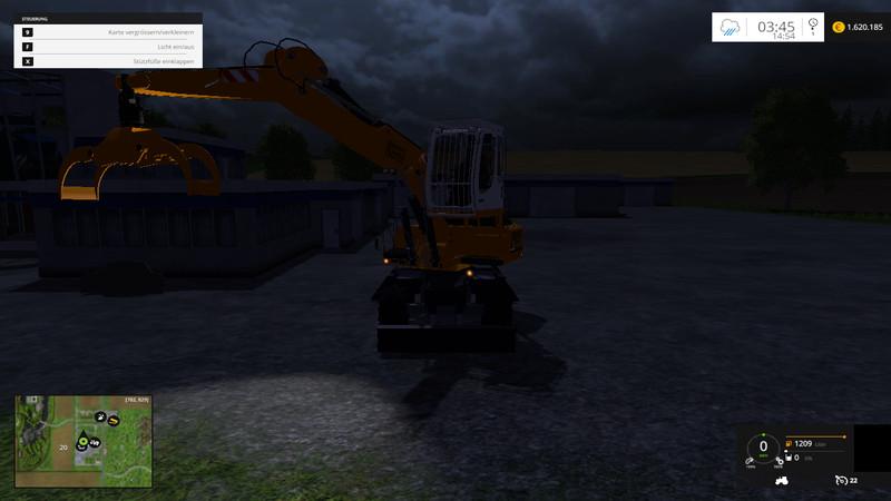 liebherr umschlagbagger 1 Liebherr Excavator Pack V 0.9