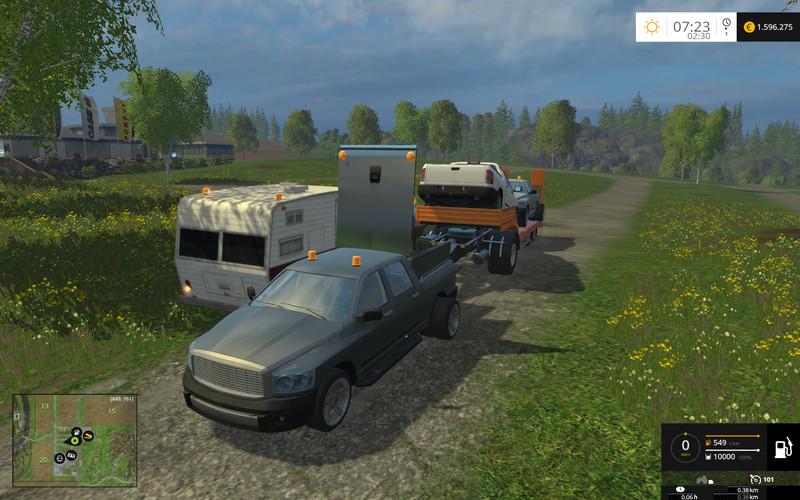 pickup set with fun v 1 0 farming simulator 2015 mods