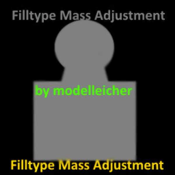 realistische ladegewichte filltypemassadjustment More Realistic Loading Weights V 1.0