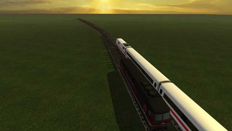 zugschienen mit splines 1 FS 2015 Train tracks with splines